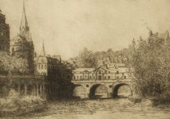 Charles D. Murray ' Pulteney Bridge, Bath'